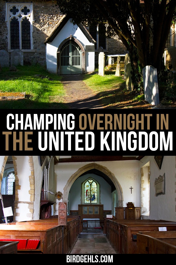 Looking for something truly odd to do in the #UnitedKingdom? Why not spend the night in a church in #England or #Scotland? The trend is known as #champing and helps fund the ongoing maintenance of these historic structures - plus it's loads of fun. Here's what it's like to stay in a church in #Fordwich, #Kent. / Unusual Things to do in the UK / Eco-Tourism / #Camping / #Glamping / Spooky Travel / #History / #SustainableTravel / Eco Friendly Travel / #ResponsibleTravel /