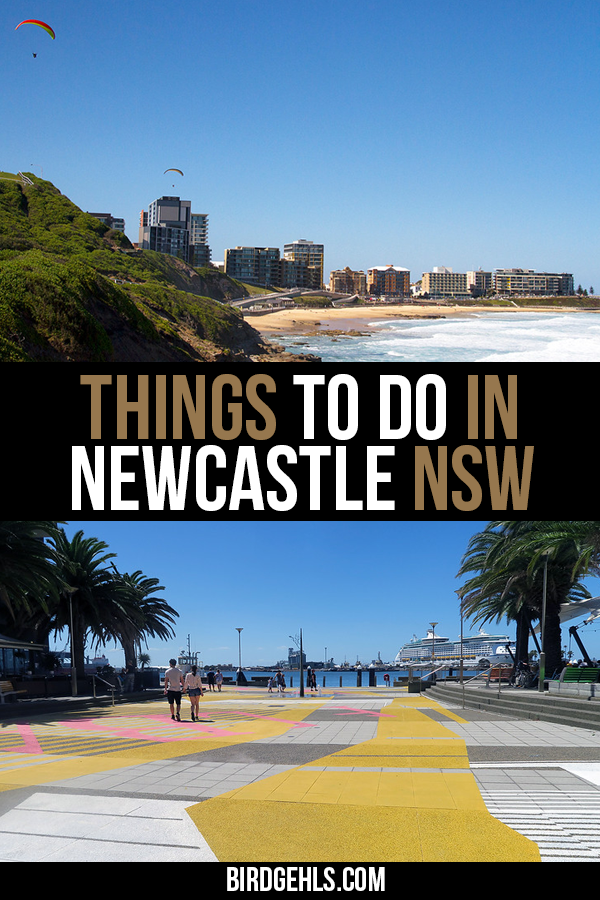 Here are some things to do in #Newcastle, #Australia. It's a place rich in a lot of cultural and natural history, with gorgeous beaches, plenty of cute cafes and other activities for all ages. It's close to the vineyards of the Hunter Valley and is only two hours north of Sydney. Find out why you should put this city on your radar. / #MyNewcastle / #VisitNewcastle / #NewcastleNSW /