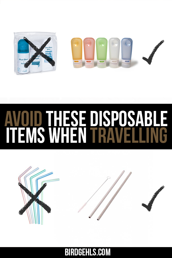 Want to green up your travels? Here are five items that you too can eliminate the use of, with a few, simple eco-friendly swaps. / Eco-Travel / Eco-Traveller / #SustainableTravel / #GreenTravel / #Ecotravel /