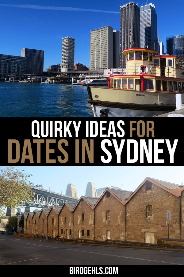 Want to get romantic in Sydney, but sick of the dinner and drinks? Here are some Sydney date ideas that are a little quirky and a whole lotta fun. / #VisitSydney / Things to do in #Sydney / Sydney date ideas / Date ideas for couples in Sydney / Romantic things to do in Sydney / Unusual things to do in Sydney / #VisitNSW / Day trips from Sydney /