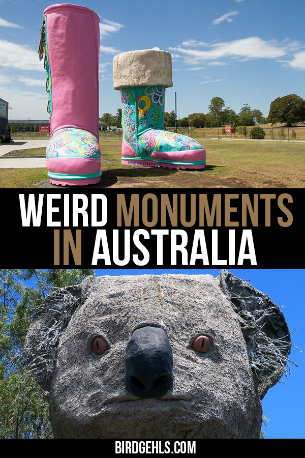#Australia has some pretty odd sights to see, both natural and manmade. Many of these come in the form of the
