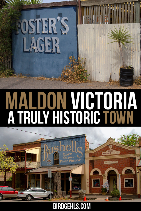 Want to see a piece of preserved Victorian history? Head to the town of Maldon, #Australia's first
