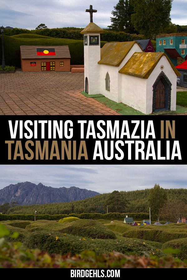 Inside the world's largest maze complex, lies the village of Lower Crackpot - the tiniest town in #Tasmania, #Australia. Learn more about this wonderful place here. / Things to do in Tasmania / Quirky Things to do in Australia / #SeeAustralia / Launceston / Devonport