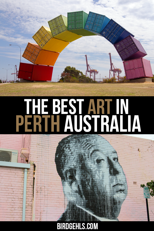 Perth has some really great public art. However, #Perth also has some truly questionable sculptures littered around the city. Read on to find out where to find the best street art in Perth and the stories behind some of its more outlandish pieces. / #PerthisOkay / #OneDayinWA / Things to do in Perth / Things to do in Western Australia / #WesternAustralia / #SeeAustralia / Art in Australia / Australian Culture /