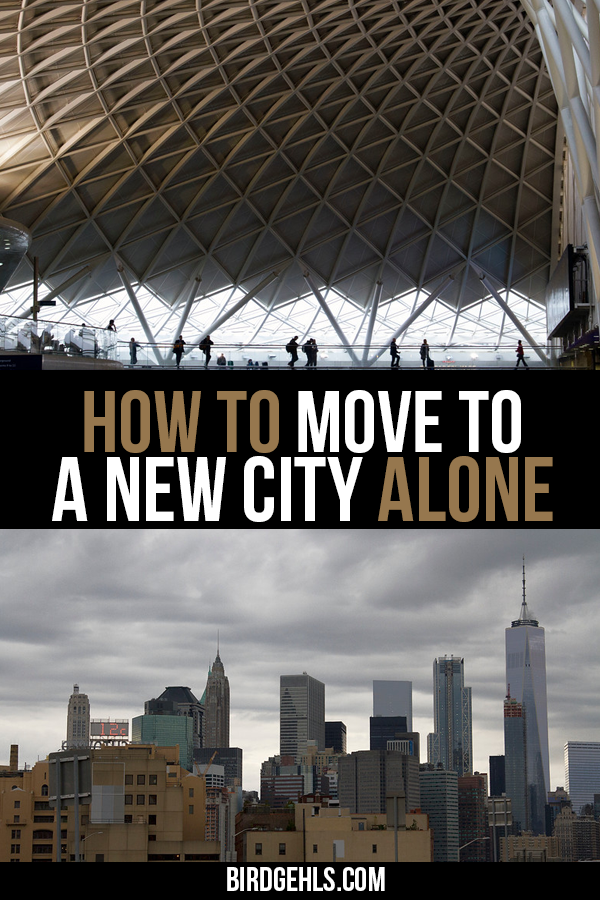 Here are some tips to avoid being lonely in a new city, from obvious ones like travel and new hobbies, to losing yourself in fiction and surrounding yourself with things that bring you comfort. / Expat Life / Move Overseas / How to move to a new city alone / #Expat / #ExpatLife / Moving Abroad /