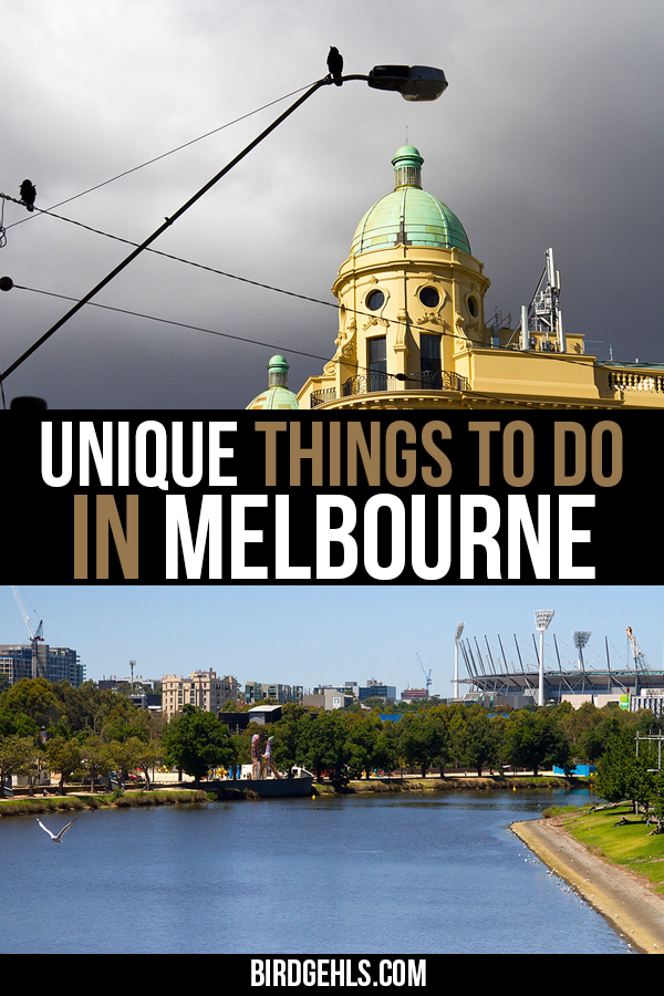 Think you've seen and done all that #Melbourne has to offer? Think again. Here's an epic list of some unique things to do in Melbourne.  No matter what your preference - history buff, nature enthusiast, foodie, adrenaline seeker or fitness freak - there'll be something here to suit you! / Things to do in Melbourne / #Australia / #SeeAustralia / Unique Things to do in Melbourne / #visitVictoria /
