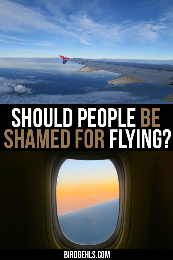 Is #flygskam (flying shame) an effective movement for change? Or is it just a hurtful form and possibly ineffective form of public shaming? And can travel truly be sustainable if we continue to fly?