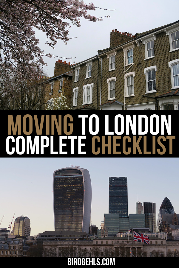 Picking up and taking overseas can be a confusing ordeal, from opening a bank account to figuring out where to live. Here's how to deal with all the icky stuff when you move to #London in the United Kingdom. / #Expat / #ExpatLifestyle / #ExpatLife / #UnitedKingdom /