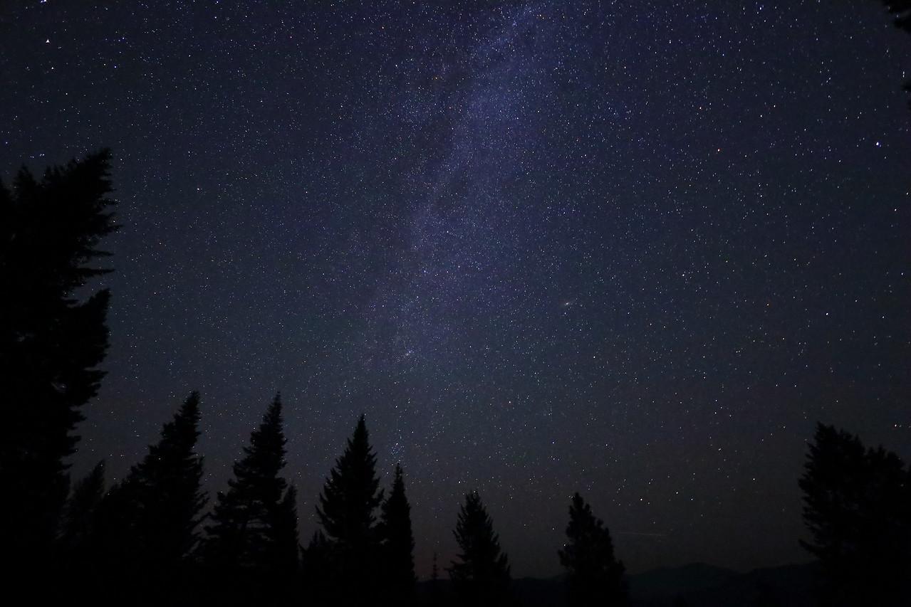 Milky Way and Andromeda Galaxy