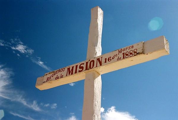 Abiquiu Mission Cross.