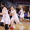 The first quarter of the Pecos High School vs Lordsburg High School at the Santa Ana Star Center during State Championship quarter finals on Tuesday, March 12, 2019. Luis Sánchez Saturno/The New Mexican