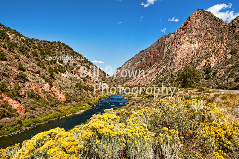 Rio Grande in Northern New Mexico
