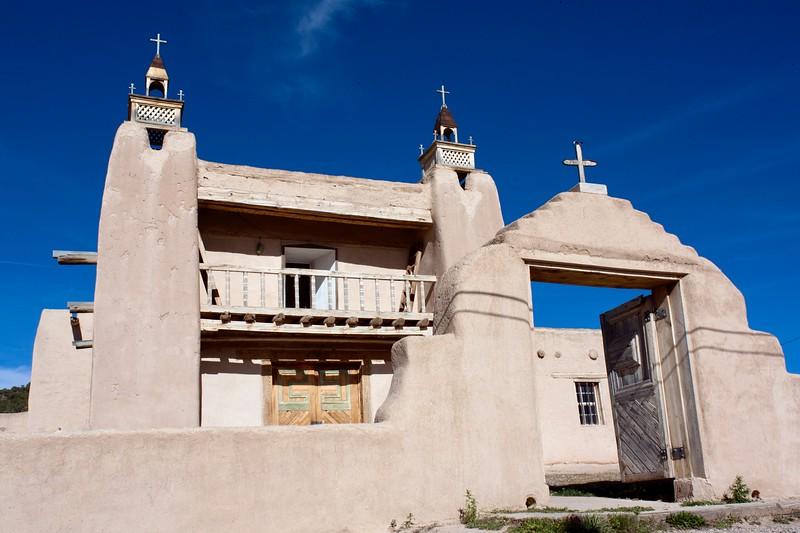 Las Trampas, The  Church of San Jose de la Gracia 1