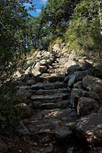 Stone Steps at Monjeau