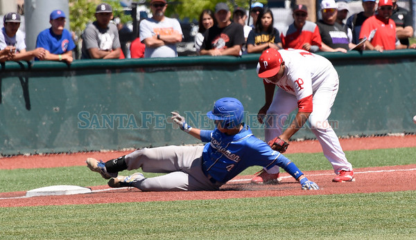 Class 4A State high school baseball Tournament semifinal game between St. Michael's and Portales played Friday, May 12, 2017 at the Santa Ana Star Field, UNM. Clyde Mueller/The New Mexican