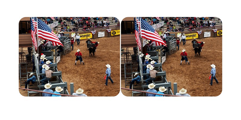 Rodeo at Gallup Inter-Tribal Ceremonial
