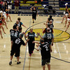 """New Mexico State legislators went head-to-head in the 2017 """"Hoops 4 Hope"""" legislative basketball game Wednesday, March 1, 2017 at Tony Roybal Gymnasium at Santa Fe High. The charity event will raise money to support cancer research and care at the UNM Comprehensive Cancer Center.  The House of Representatives team will represent the """"Aggies"""" and will be coached by Mike Jordan, NMSU's women's volleyball coach, and the Senate team will represent the """"Lobos"""" and will be coached by Bob Davie, UNM's football coach. Clyde Mueller/The New Mexican"""
