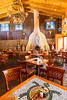 The Church St. Cafe interior decor in Old Town, Albuquerque, New Mexico, USA.