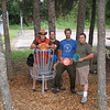 2007 9-1 - Boys and their toys. Disc golf in Red River during the Labor Day Cabin trip.