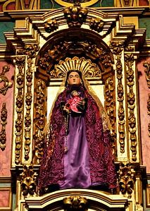 La Conquistador in Santa Fe Cathedral