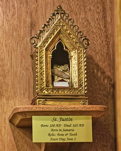 Relic in Cathedral