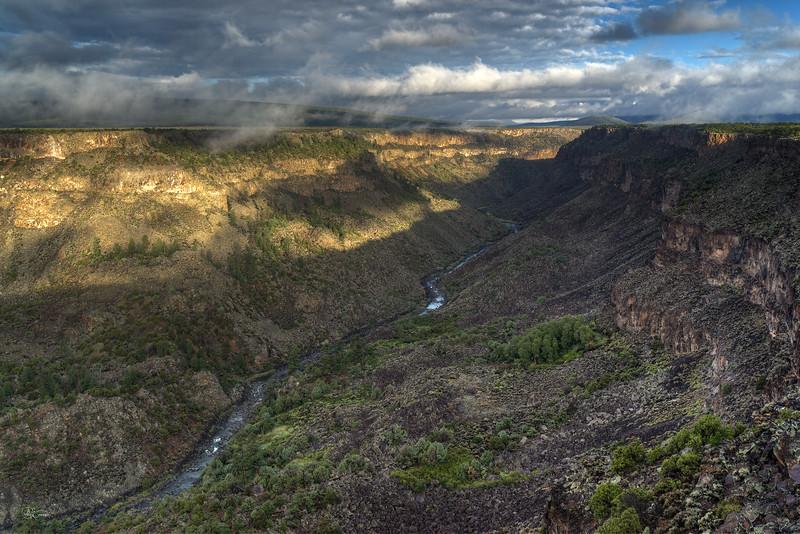 Clouds Over the Rio Grande