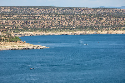 Navajo Lake, along the San Juan River, in northwest New Mexico, on August 14, 2021. ©Mitch Tobin Usage rights are granted for editorial and nonprofit purposes only. No commercial or re-sale rights are granted without permission of the photographer.
