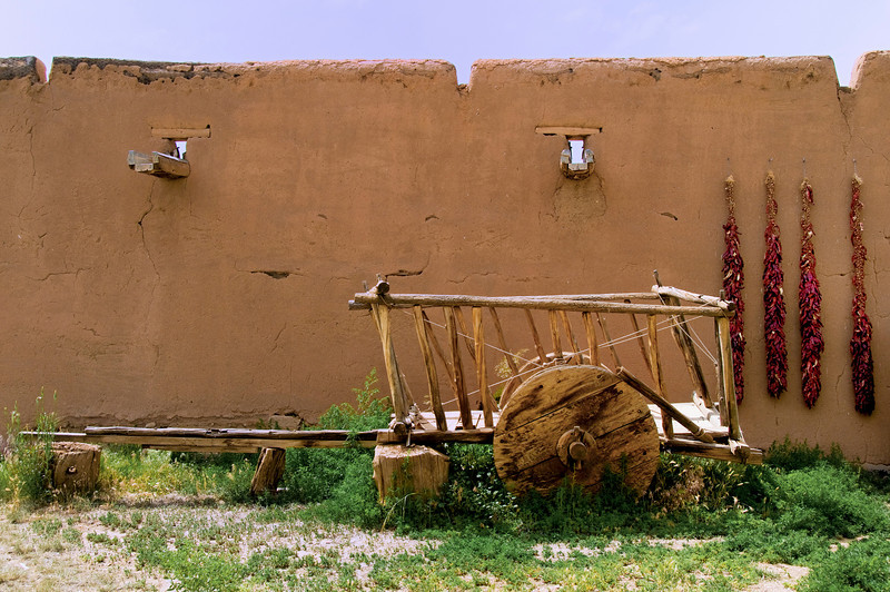 Wagon - La Hacienda de los Martinez - Taos, New Mexico.