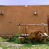Wagon - La Hacienda de los Martinez - Taos, New Mexico.