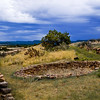 Stone Circle - Pecos National Historical Park, Pecos, New Mexico.