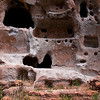 Rock Formation - Bandelier National Monument, New Mexico.