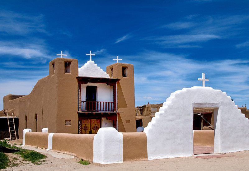 San Geronimo Church - Taos Pueblo, New Mexico.