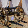 Gatlin Gun - Civil War Encampment, Pecos, New Mexico.