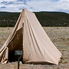 Tent - Civil War Encampment, Pecos, New Mexico.