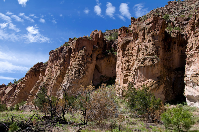 Frijoles Canyon - Bandelier National Monument, New Mexico.
