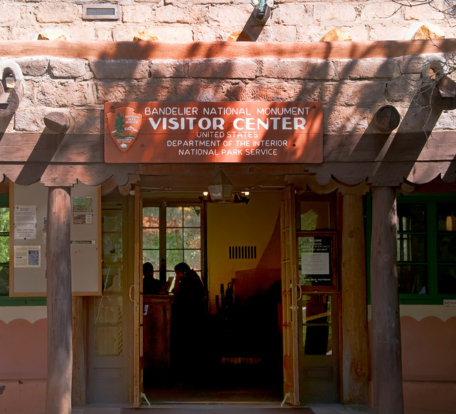 Visitor Center - Bandelier National Monument, New Mexico