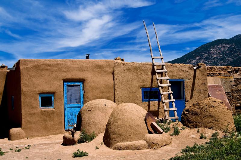 Pueblo House - Taos Pueblo, New Mexico