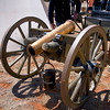 Cannon - Civil War Encampment, Pecos, New Mexico.