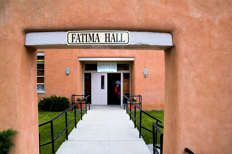 Santa Fe Photographic Workshops, Fatima Hall, IHM Retreat Center, Santa Fe, New Mexico.