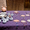 Pottery and Jewelry - Taos Pueblo, New Mexico.