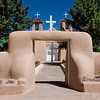 Mission San Francisco de Asis - Taos, New Mexico.