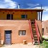 Pueblo House - Taos Pueblo, New Mexico.