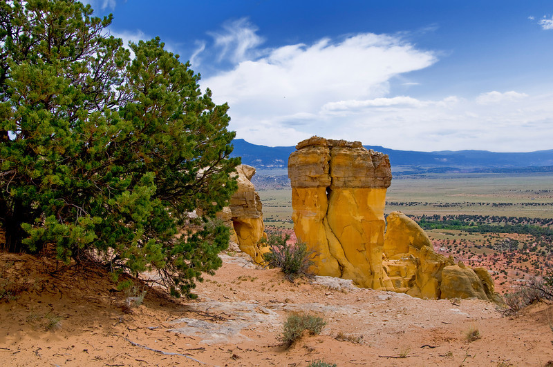 Chimney Rock - Ghost Ranch, New Mexico.