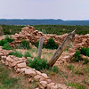 Ruins - Pecos National Historical Park, Pecos, New Mexico.