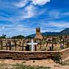 Cemetery - Taos Pueblo, New Mexico.