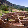 Ruins - Bandelier National Monument, New Mexico.