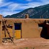 Pueblo House - Taos Pueblo, New Mexcio.
