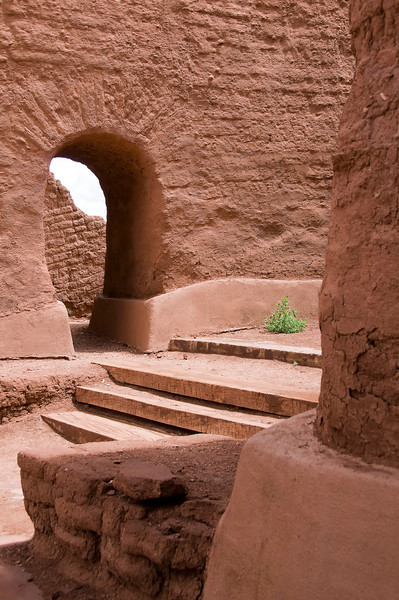Mission Nuestra Senora de los Angeles de Porciuncula - Pecos National Historical Park, Pecos, New Mexico