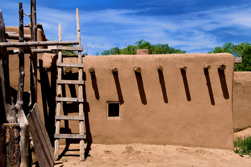 Taos House - Taos, Pueblo, New Mexico.