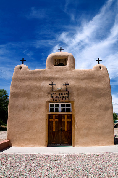 San Juan de los Lagos Church, Talpa, New Mexico